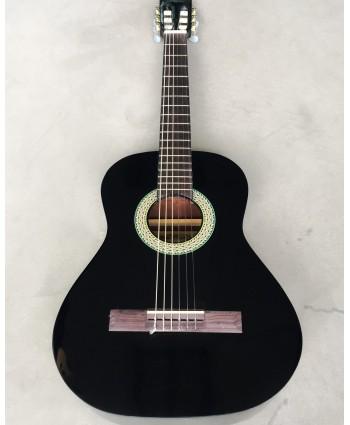 PLUTO ACOUSTIC GUITAR BLACK