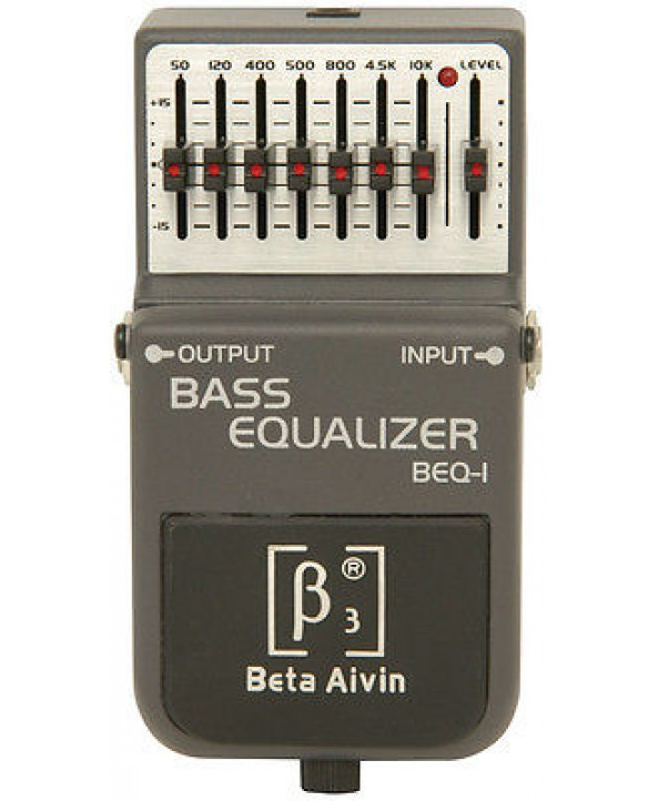 BETA AIVIN BEQ-1 BASS EQUALIZER EFFECTS PEDAL