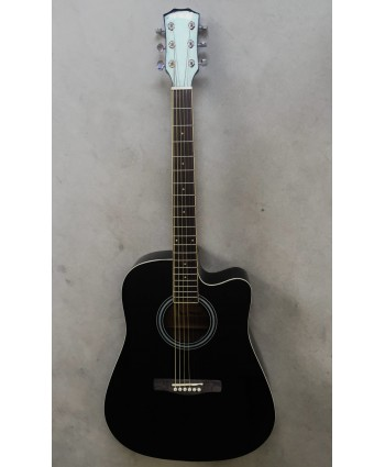 ACOUSTIC GUITAR BLACK SERIES CUTAWAY