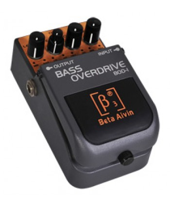 BETA AIVIN BOD-1 BASS OVERDRIVE GUITAR EFFECTS PEDAL