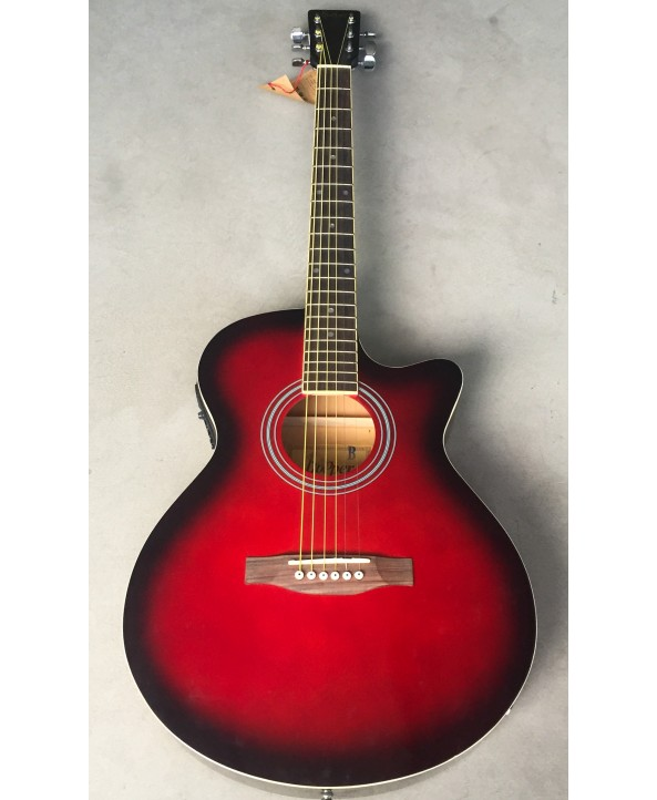HOPPER W/CUTAWAY RED BURST EQ 39