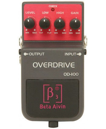 BETA AIVIN OD-100 OVERDRIVE GUITAR EFFECTS PEDAL