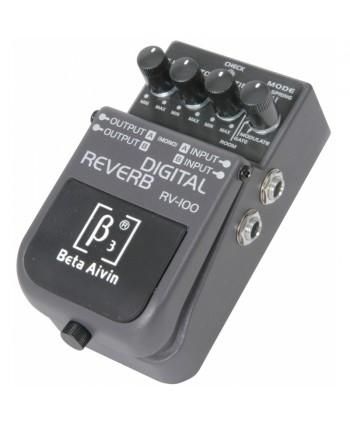 BETA AIVIN RV-100 DIGITAL REVERB GUITAR EFFECTS PEDAL