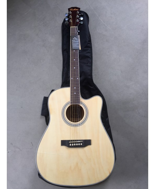 "TECHNO 41"" SEMI ACOUSTIC GUITAR"