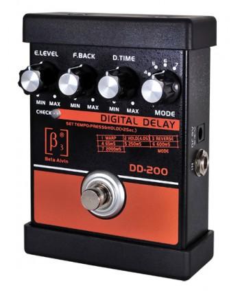 BETA AIVIN DD-200 DIGITAL DELAY GUITAR EFFECTS PEDAL
